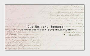 Old Writing Brushes by photoshop-stock