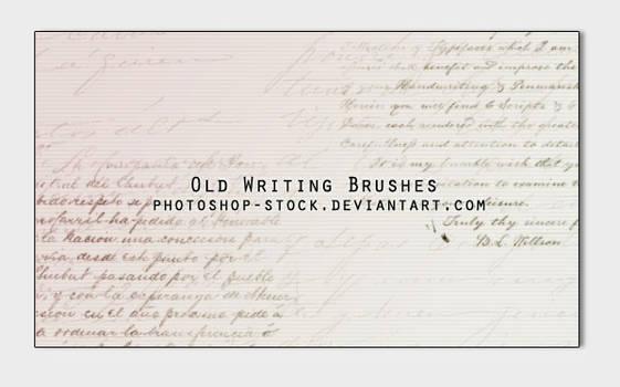 Old Writing Brushes