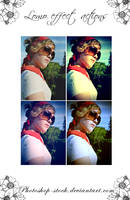 Lomo Effect - PS.Actions - by photoshop-stock