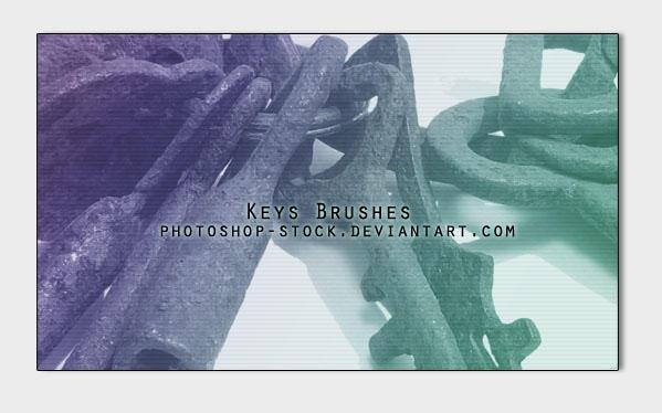 Keys - Brushes - by photoshop-stock