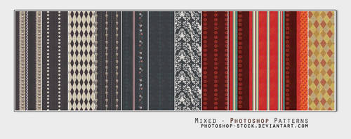 Mixed - PS Patterns by photoshop-stock