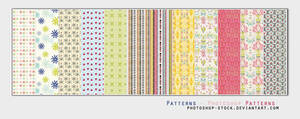 Patterns by photoshop-stock