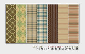 Set 25 - Photoshop Patterns
