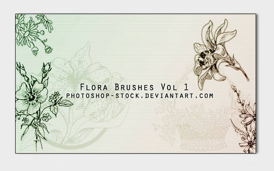 Floral - PS Brushes