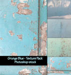 Grunge Blue - Texture Pack
