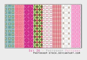 Set 26 - Photoshop Patterns by photoshop-stock