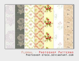 Floral - PS Patterns by photoshop-stock