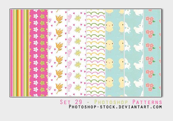 Set 29 - Photoshop Patterns by photoshop-stock