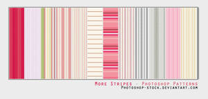 More Stripes - PS Patterns by photoshop-stock