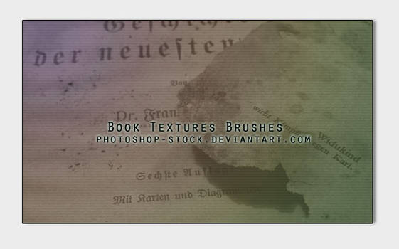 Book Textures Brushes