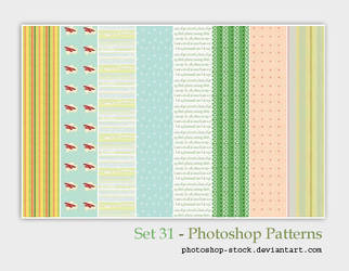 Set 31 - Photoshop Patterns by photoshop-stock