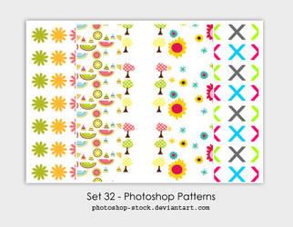 Set 32 - Photoshop Patterns by photoshop-stock