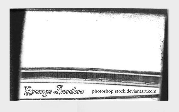 Grunge Borders Brushes by photoshop-stock