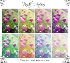 Pastel Actions