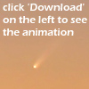 Animation - comet McNaught by adorion