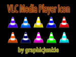 VLC Media Player Glass Icons
