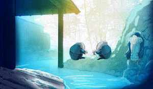 FOH: Hotsprings- NorthernSprings by Azzyfree-art