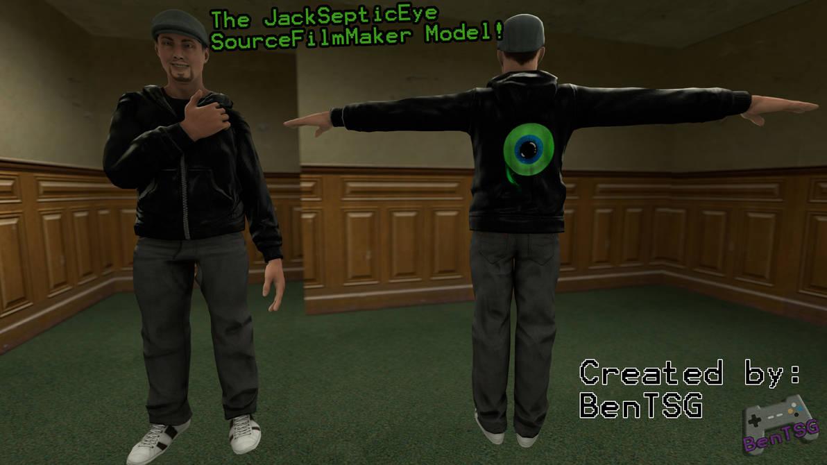 Gmod/SFM Download] JackSepticEye Model! by BenTSG on DeviantArt
