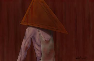 Pyramid Head by AmberWerden