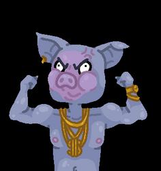 Thug Blue Pig Flex