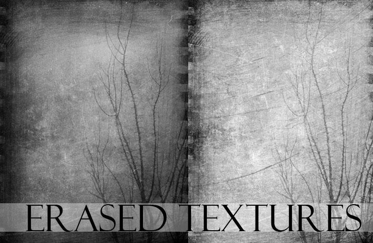 Erased Textures Set by ImaginaryRosse