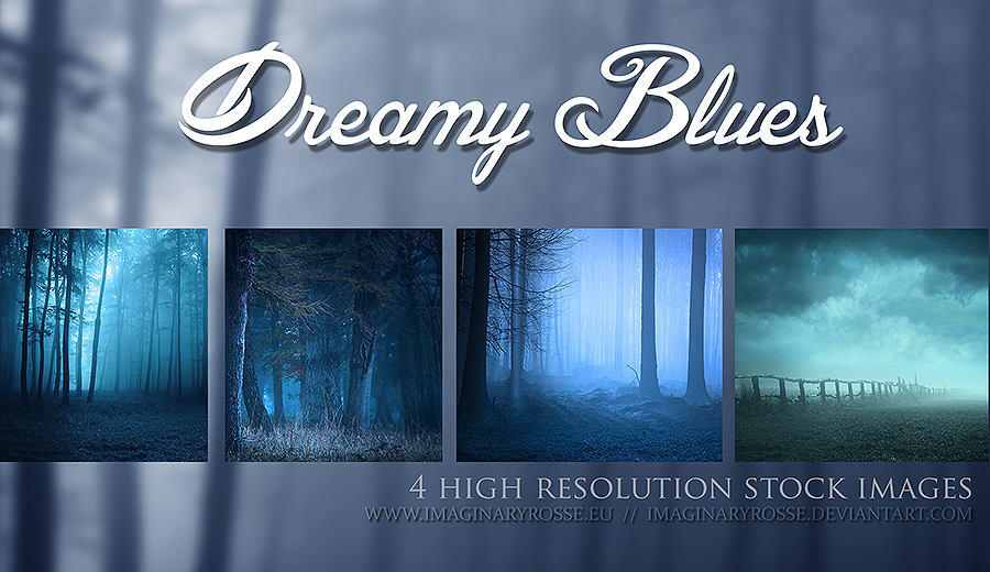 Dreamy Blue by ImaginaryRosse