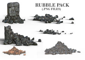 Rendered Rubble Pack