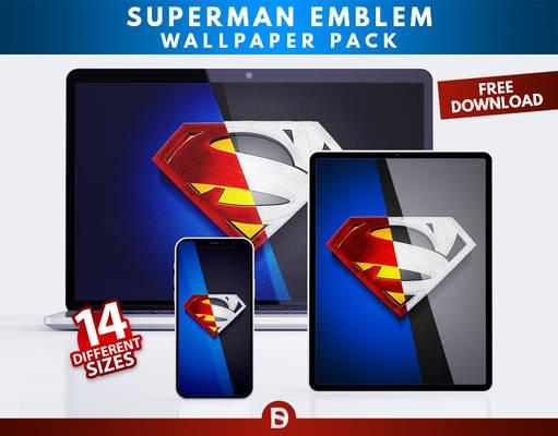 Superman Emblem Wallpaper-Pack