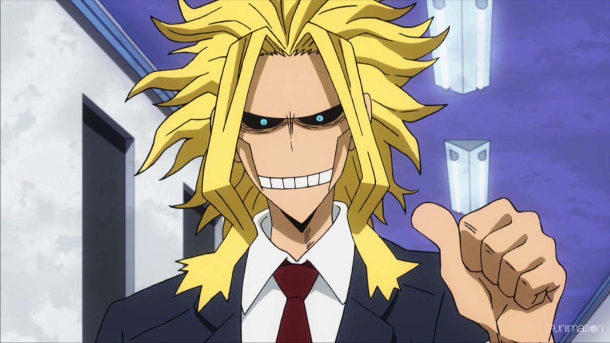 Fluff] Toshinori Yagi X Female! Child Reader by XShadowShyX on