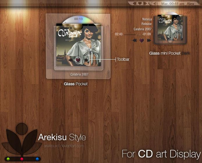 Glass pocket for CDart Display by arekisuxD