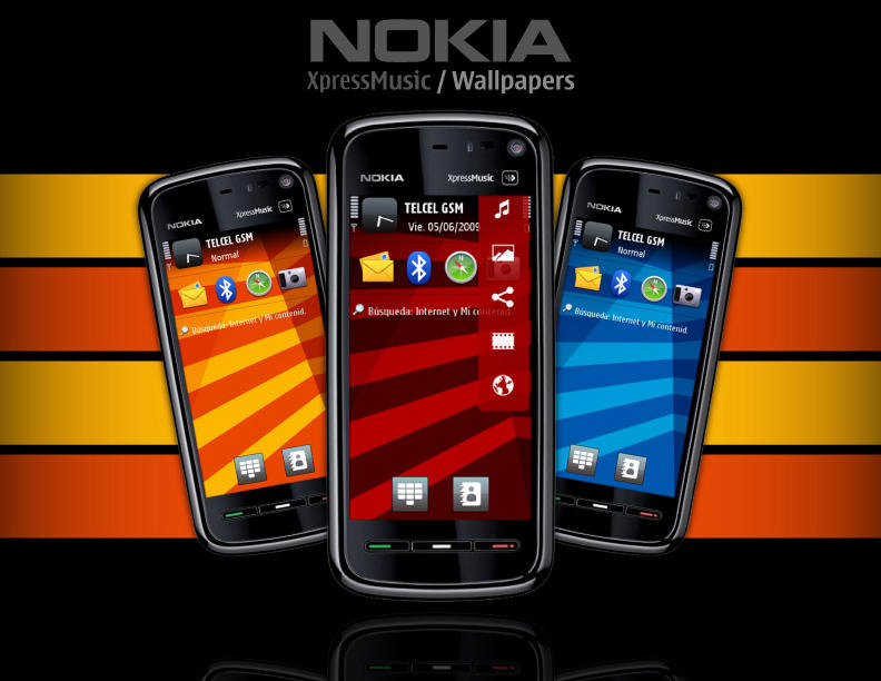 5800 xpressmusic wallpapers by finnherz on deviantart for Amazing wallpapers for nokia