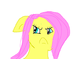 Fluttershy is NOT amused by DerpyHooves120
