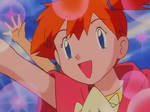 Misty dumping Ash gif from Pokemon EP 095