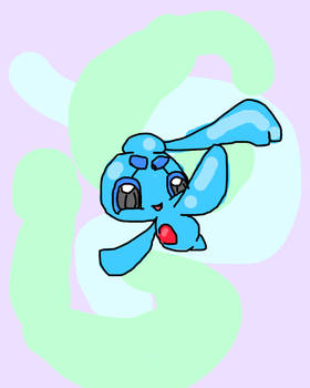 Manaphy (or Phione, it was a long time ago)