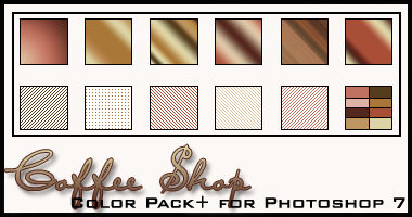 Coffee Shop Color Pack+