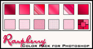 Raspberry Color Pack by redbonniekidd