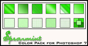 Spearmint Color Pack by redbonniekidd