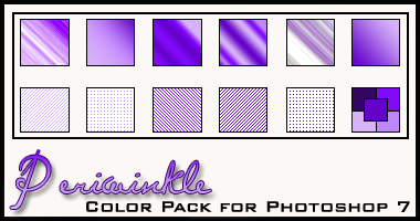 Periwinkle Color Pack by redbonniekidd