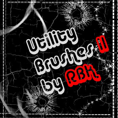 Utility Brushes II by redbonniekidd