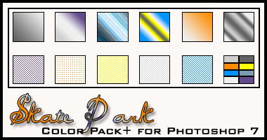 Skatepark Color Pack+ by redbonniekidd