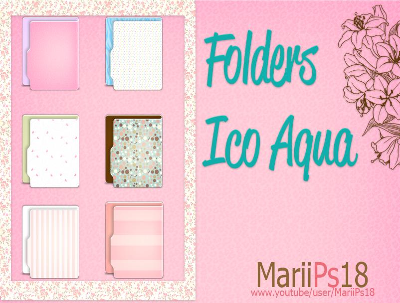 FoldersAqua by MariiPs18