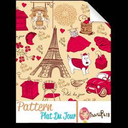 Pattern_Plat Du Jour by MariiPs18