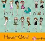 Heart Girl's