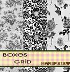 Pattern BoxesGrid