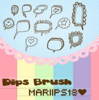 DipsBrush ByMariiPs18 by MariiPs18