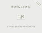 Thumby Calendar Rainmeter