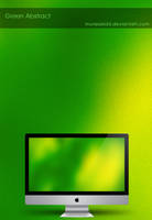 Green Abstract by murasaki55