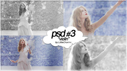 PSD Coloring #3: Violin