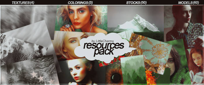 RESOURCES PACK by LittleCharmx