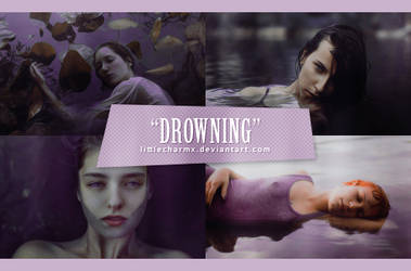 PSD Coloring #21: Drowning by LittleCharmx